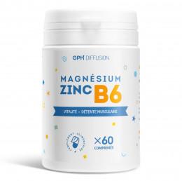 Magnésium + Zinc + B6 - 60 Comprimés
