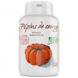 Pépins de Courge Ecocert - 420mg - 200 capsules