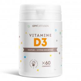 Vitamine D3 - 5 µg - 60 Comprimés