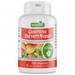 Guarana Nopal The Vert 470 mg - Produit naturel