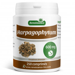 Harpagophytum dosés à 600 mg par comprime