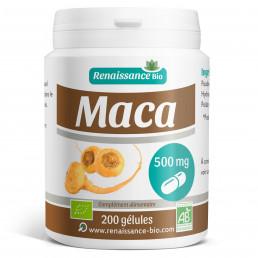 Maca Bio - 500 mg 200 gélules