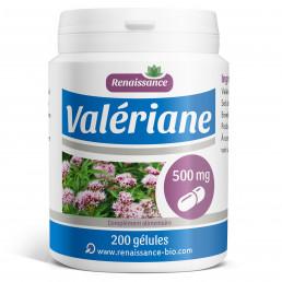 VALERIANE 200 gélules dosées à 500 mg