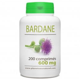 Bardane racine en comprimés dosés à 600 mg