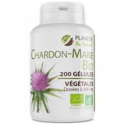 Chardon Marie Bio 300 mg - 200 gélules végétales