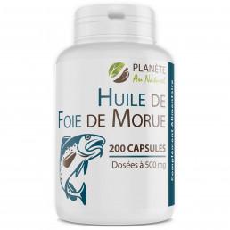 Huile de Foie de Morue 500mg - 200 capsules