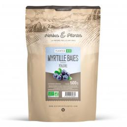 Myrtille baie bio 500 gr de poudre