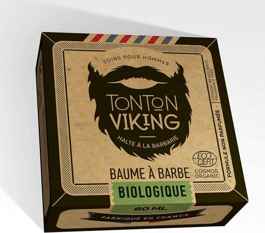 Baume à Barbe Bio 60 ml - Cosmos Organic - Tonton Viking Non parfumé
