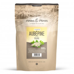Aubepine en poudre 500 g