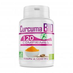 Curcuma Bio 400mg - 120 Comprimés