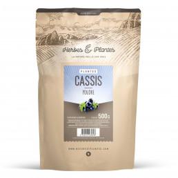 Cassis Feuille en poudre 500 gr