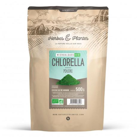 Algue Chlorella en poudre 500 gr