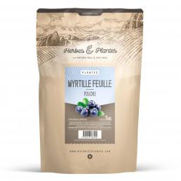 Myrtille Feuille poudre 1 kg