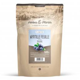 Myrtille feuille - 500 gr de poudre