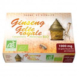 Ampoules Ginseng rouge & Gelée Royale bio