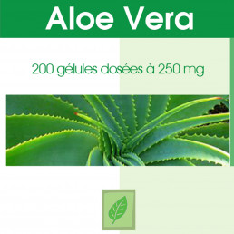 Aloe vera - 200 gelules classiques