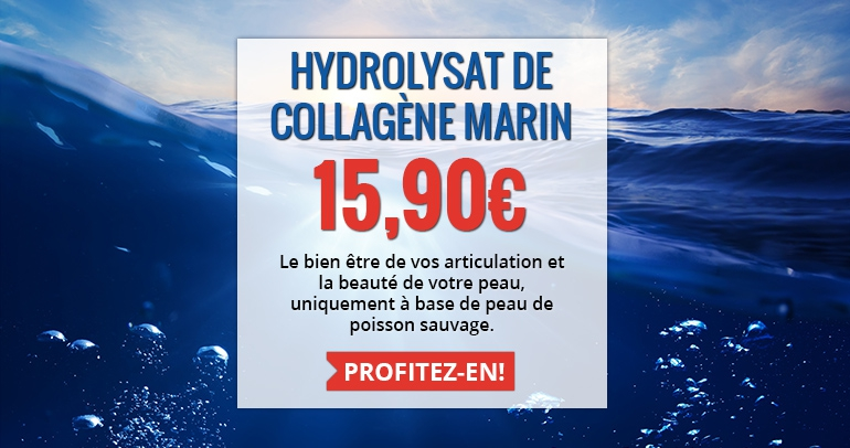 Hydrolysat de collagène marin