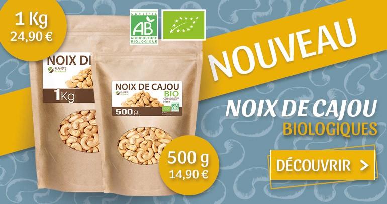 NOIX DE CAJOU BIOLOGIQUE