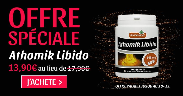 ATHOMIK LIBIDO 200 GELULES